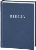Biblia, revideált új fordítású, középméret, vászon, kék