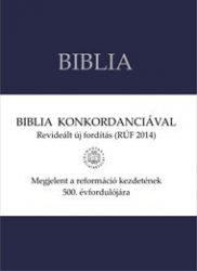 Revideált, újfordítású Biblia nagy, konkordanciával