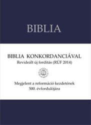 Revideált, új fordítású Biblia konkordanciával -középméretű