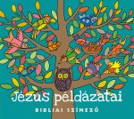Jézus példázatai -Bibliai szinező
