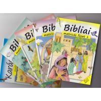 Bibliai matricás füzetek