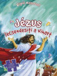 Jézus lecsendesíti a vihart-Vigyél magaddal(puzzle) Biblia