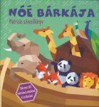 Noé bárkája matricás színezőkönyv
