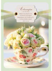 Borítékos képeslap-anyák napjára