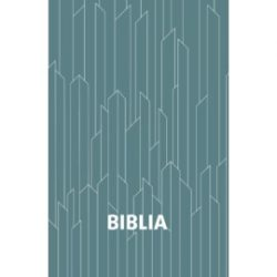 Biblia-egyszerű fordítás, puhaborítós, kék kristályos