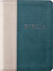 Biblia (RÚF 2014), puhatáblás, varrott, zöld