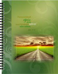 Jegyzetfüzet - Zöld